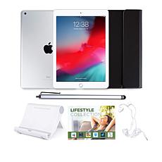 """Apple iPad® 9.7"""" 128GB Tablet with Keyboard Case and Accessories"""
