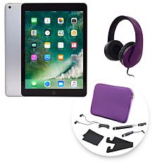 "Apple iPad® 9.7"" 128GB Wi-Fi & Celluar Tablet with DJ-Style Headphones"