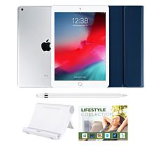 "Apple iPad® 9.7"" 32GB Silver Tablet with Keyboard Case & Apple Pencil"