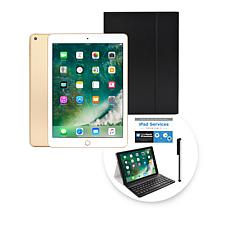 """Apple iPad® 9.7"""" 32GB Tablet with Keyboard Case & 2-Year Tech Support"""