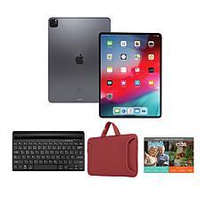 "Apple iPad Pro 11"" 128GB Space Gray Bundle with Keyboard"
