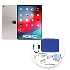"Apple iPad Pro® 11"" 512GB Cellular Tablet w/Zipper Case & Accessories"