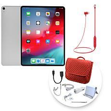 "Apple iPad Pro® 12.9"" 256GB Tablet w/Messenger Bag & Accessories"
