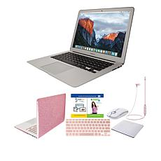 "Apple MacBook Air® 13.3"" 256GB SSD Laptop w/Bluetooth Earbuds & Case"