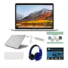"Apple MacBook Pro® 15.4"" 512GB SSD Laptop with Touch Bar and Clip Case"