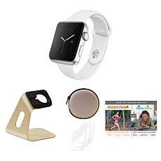 Apple Watch Series 3 38mm With Stand, Screen Protectors and Voucher