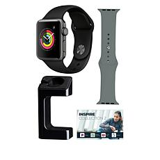 Apple Watch® Series 3 42mm with GPS and Extra Band - Space Gray