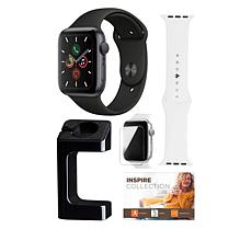 Apple Watch Series 5 40mm with GPS and Watch Stand Bundle