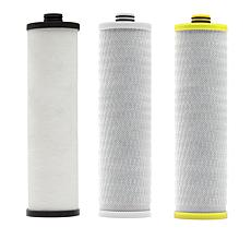 Aquasana 3-Stage Max Flow Water Filtration System Filters