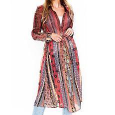Aratta Jeanne Shirt Dress - Red