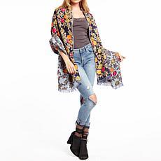 Aratta Lena Embroidery Shawl
