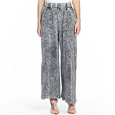 Aratta She Does Not Care Knit Pants - Acid Grey Wash