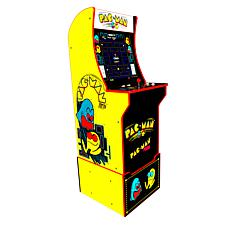 Arcade1Up Pac-man & Pac-man Plus Arcade Machine with Riser