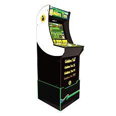 Arcade1Up Video Game Golden Tee Arcade Machine w/Riser & 4 Games