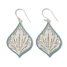 Argento Vivo Filigree Sterling Silver Drop Earrings