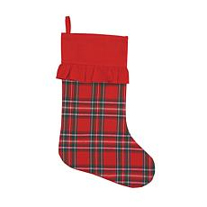 Arlington Plaid Her Stocking
