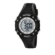 Armitron Men's All-Black Digital Chronograph Sport Watch