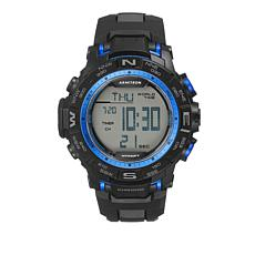 Armitron Men's Blue/Black Digital Chronograph Sport Watch