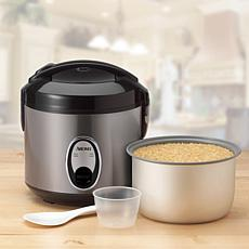 Aroma ARC-914D 4-Cup Cool-Touch Rice Cooker - Stainless Steel
