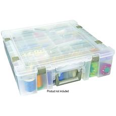 Art Bin Deluxe Super Satchel - Divided Storage