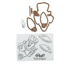 Art Impressions Fairy Flutter Stamp and Die Set