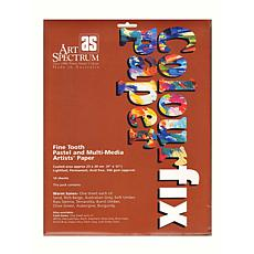 ART SPECTRUM Colourfix 10-piece Rainbow Packs Artists' Paper - Warm