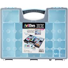 ArtBin Large Quick View Tote with 13 Removable Bins