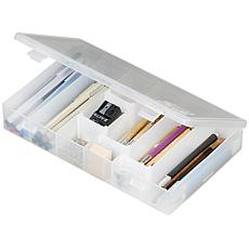 "ArtBin Storage Box - 11"" x 6.75"" x 1.75"" Translucent"