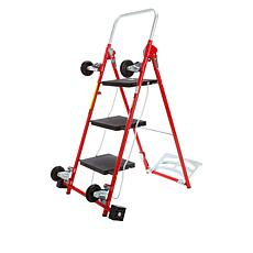 """As Is"" 4-in-1 Cart and Ladder"