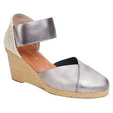 """As Is"" André Assous Anouka Stretch Espadrille Wedge Sandal"