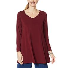 """As Is"" Antthony All For You V-Neck Tunic with Pockets"