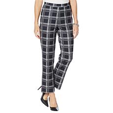 """""""As Is"""" Antthony Boss Lady Plaid Pull-On Pant"""