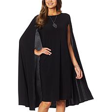 """""""As Is"""" Antthony Cape Sheath Dress"""