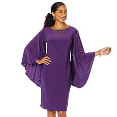 """As Is"" Antthony ""Captivating Collection"" Volume Sleeve Shift Dress"