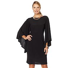 """""""As Is"""" Antthony """"Captivating Collection"""" Volume Sleeve Shift Dress"""
