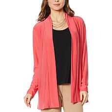 """As Is"" Antthony Long-Sleeve Flowy Cardigan"