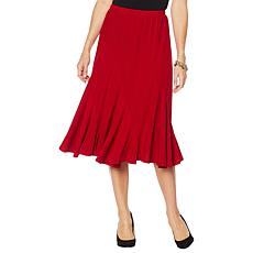 """""""As Is"""" Antthony """"Twilight Collection"""" Spiral-Seamed Crepe Skirt"""