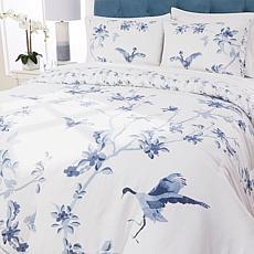 """As Is"" august & leo 100% Cotton 3-piece Comforter Set"