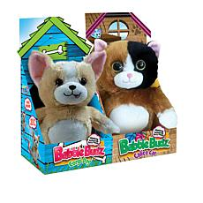 """""""As Is"""" Babble Budz Interactive Plush Toys 2-pack"""