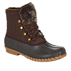 """As Is"" Baretraps® Flash Lace-Up Duck Boot with Stay Dry System"