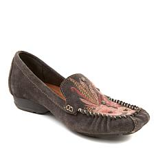 """As Is"" Baretraps® Otella Embroidered Suede Loafer"