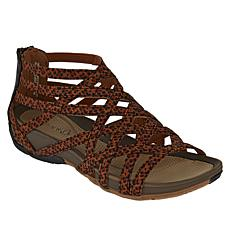 """As Is"" Baretraps® Samina Open-Toe Gladiator Sandal with Rebound Te..."