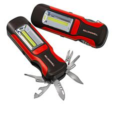 """As Is"" Bell + Howell 7-in-1 Multi tool and Light - Set of 2"