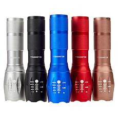 """As Is"" Bell + Howell TacLight High-Performance Flashlight 5-pack"
