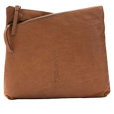 """As Is"" Born® Palana Leather Crossbody Bag"