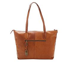 """As Is"" Born® Raval Leather Tote"