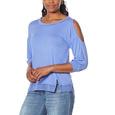 """""""As Is"""" Brittany Humble Cold-Shoulder Tunic"""