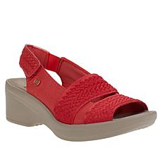 """As Is"" Bzees Fiona Washable Slingback Sandal"