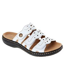 """As Is"" Clarks Collection Laureiann Echo Leather Sandal"