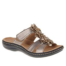 """""""As Is"""" Clarks Collection Laurieann Judi Floral Sandal"""